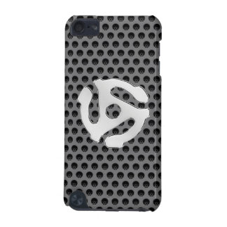 COOL Retro Chrome Like 45 spacer DJ Print iPod Touch (5th Generation) Cover