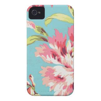 Cool Retro Floral iPhone 4 Case-Mate Case