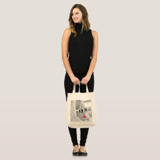 Cool Retro Jumbo Lady Face  Tote For Beach