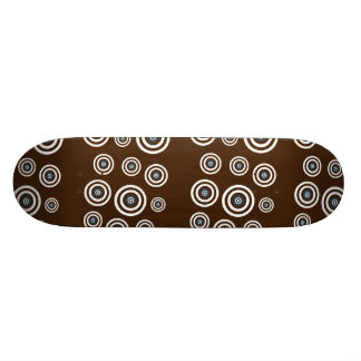 Cool retro old school skateboard