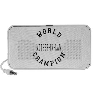 Cool Retro World Champion Mother in Law iPhone Speaker