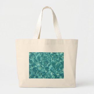 Cool ripples of water canvas bag