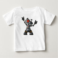 Cool Robot Baby T-Shirt