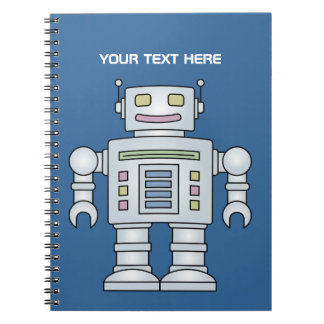 Cool Robot notebook | School supplies for kids