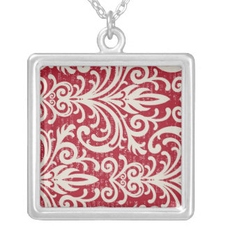 Cool Robust Refreshing Gregarious Square Pendant Necklace