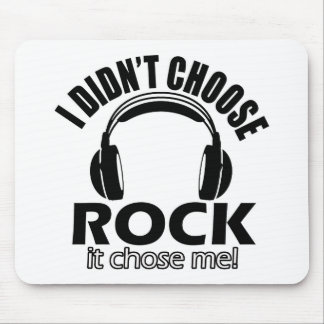 Cool rock designs mousepads