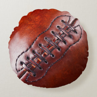 Cool Round Football Man Cave Pillow