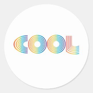 Cool Round Sticker