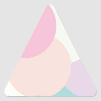 Cool Rounds Triangle Sticker