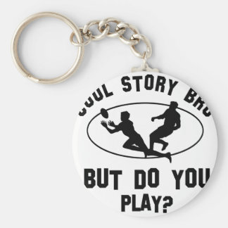cool rugby designs key ring