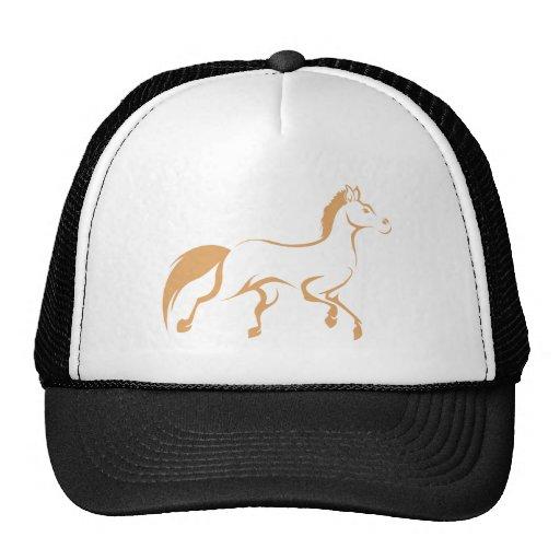 Cool Running Horse Logo Shirt Trucker Hats