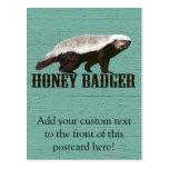Cool Rustic Honey Badger