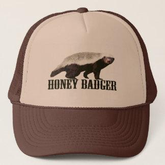 Cool Rustic Honey Badger Trucker Hat