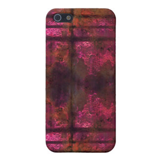 Cool rusty metal iPhone Pink 2 iPhone 5/5S Case