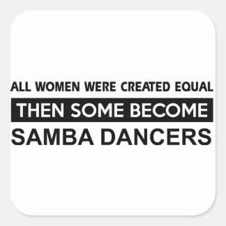 Cool Samba designs Stickers