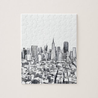 Cool San Francisco SF Citiscape Puzzles