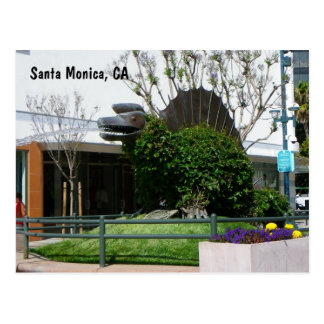 Cool Santa Monica Postcard! Postcard