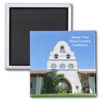 Cool Santa Ynez Magnet! Square Magnet