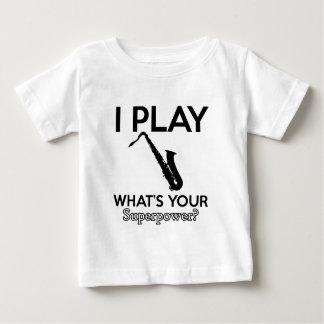 cool saxophone designs baby T-Shirt