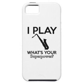 cool saxophone designs case for the iPhone 5