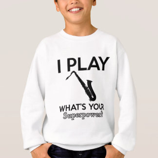 cool saxophone designs sweatshirt