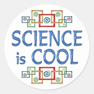 Cool Science Round Sticker