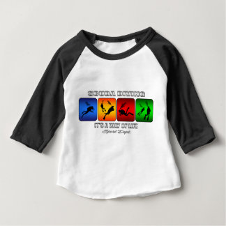 Cool Scuba Diving It Is A Way Of Life Baby T-Shirt