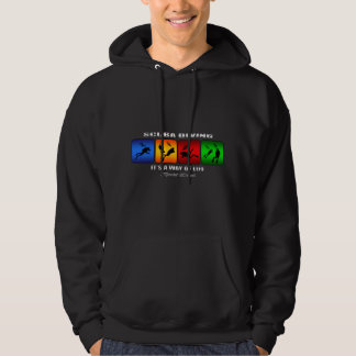 Cool Scuba Diving It Is A Way Of Life Hoodie