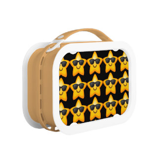 Cool Shades Emoji Star Lunch Boxes