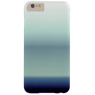 Cool Shades of Blue Ombre Gradient Barely There iPhone 6 Plus Case