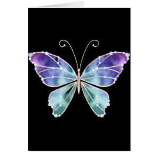 Cool Shades Rainbow Wings Butterfly Cards