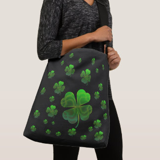 Cool shamrocks crossbody bag
