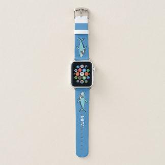 Cool Shark custom monogram watch bands