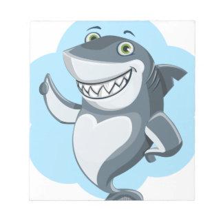 Cool shark notepad