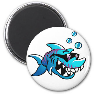Cool Shark with sunglasses Magnet
