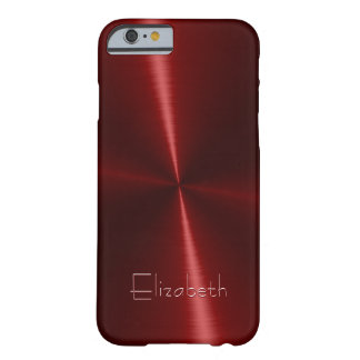 Cool Shiny Radial Steel Metal iPhone 6 Case