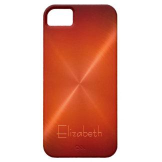 Cool Shiny Radial Steel Metallic iPhone 5 Cases