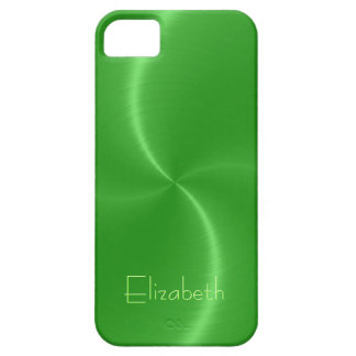 Cool Shiny Radial Steel Metallic iPhone 5 Case