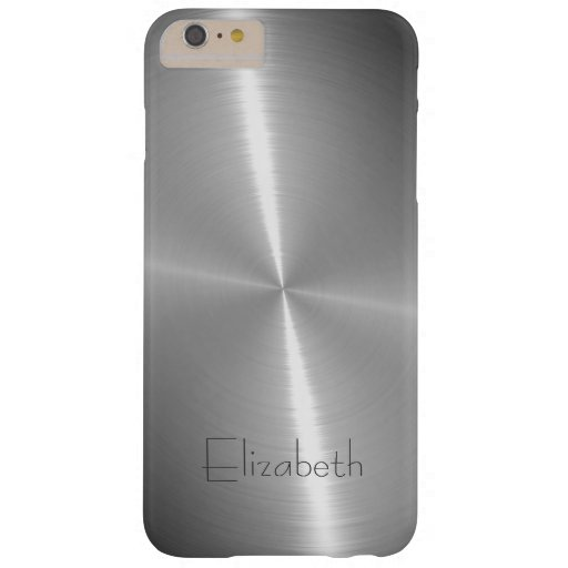Cool Shiny Radial Steel Metallic Barely There iPhone 6 Plus Case