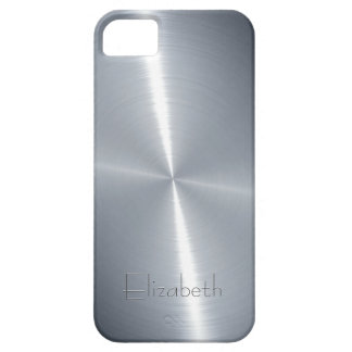 Cool Shiny Radial Steel Metallic Case For The iPhone 5