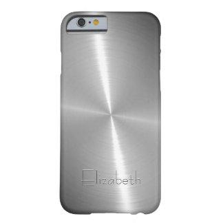 Cool Shiny Radial Steel Metallic iPhone 6 Case