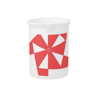 cool shirt logo pitcher