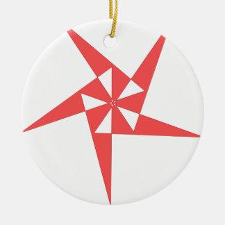 cool shirt logo round ceramic decoration