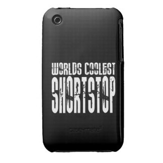 Cool Shortstops : Worlds Coolest Shortstop iPhone 3 Case-Mate Cases