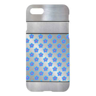 Cool Silver 3D Metallic Pattern iPhone Case