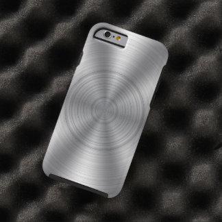 Cool Silver Metallic Look Tough iPhone 6 Case