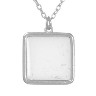 cool silver plated necklace