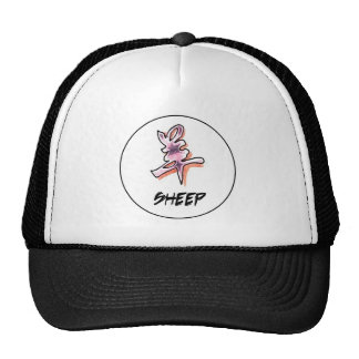 Cool Simple Elegant Chinese Zodiac Sign Sheep Cap