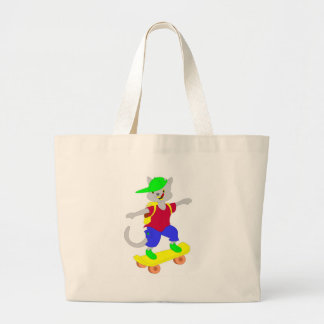 Cool skateboarding gifts for kids canvas bag