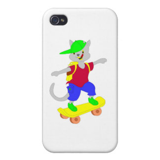 Cool skateboarding gifts for kids cases for iPhone 4